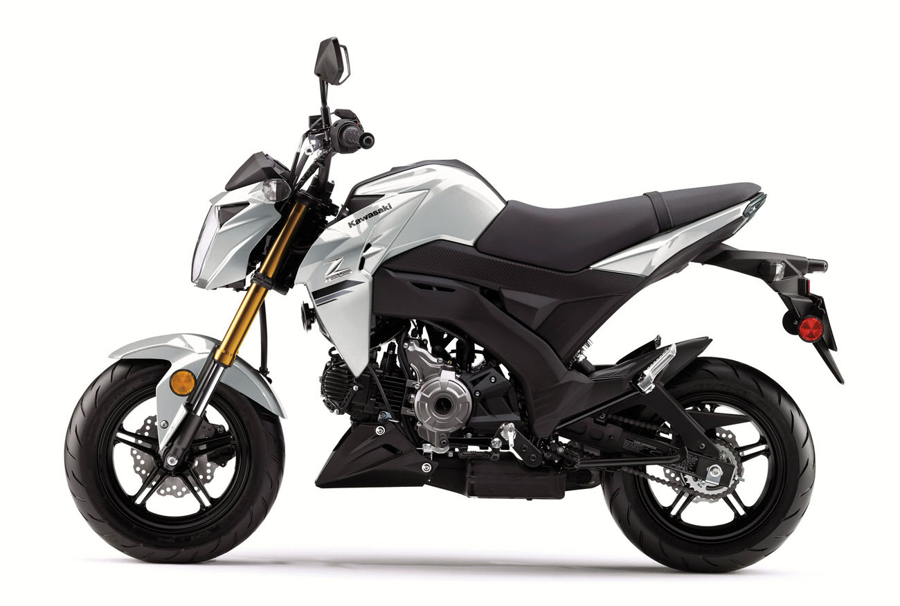 Kawasaki Z125 technical specifications